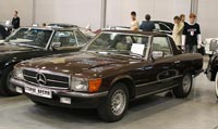 фото: Mercedes-Benz 280 SL (W107), 1981 год (опубликовано 08.09.2005)