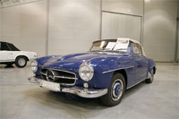 фото: Mercedes-Benz 190 SL, 1956г. (опубликовано 24.03.2006)